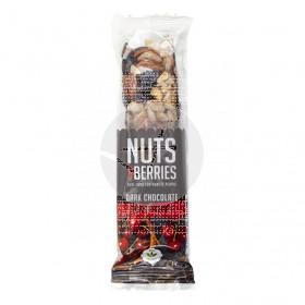 Barrita De Chocolate Negro con Cereza Bio Nut&Berries Nuts&Berries