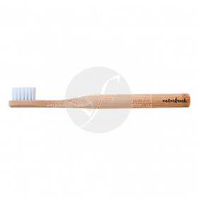 Cepillo dental de bambú niños natural Eco biodegradable Naturbrush