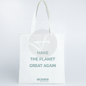 Bolsa de algodón planet ecológico vegano zero waste 38x42 cm Oceana
