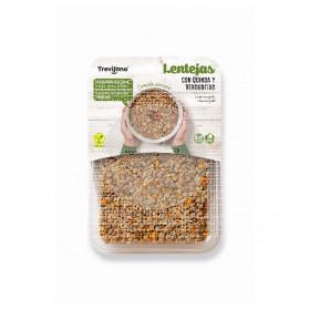 Lentejas con Quinoa y verduritas Vegano 220Gr Trevijano