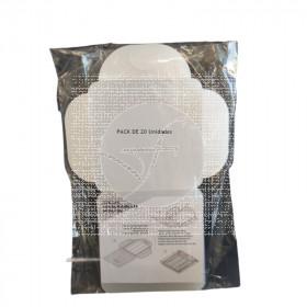 Portamascarillas bolsillo translúcido Con Solapa CNTD
