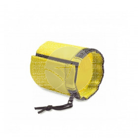 Portamascarillas muñequera Amarilla CNTD