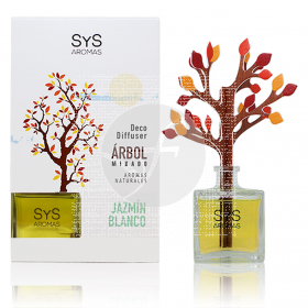Ambientador mikado arbol jazmin blanco 90ml Sys Aromas