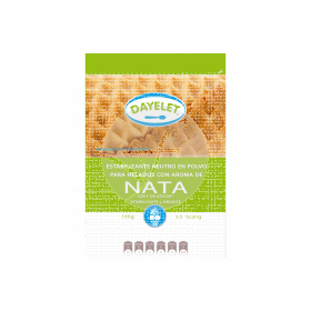 Estabilizante helados aroma nata sin gluten 100 gr Dayelet