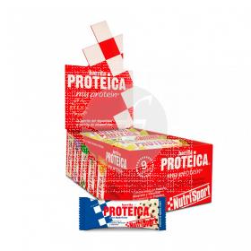 Barrita Proteica Vainilla Cookies NutriSport