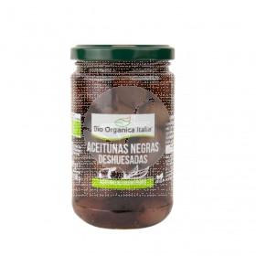 Aceitunas Negras Deshuesadas 280gr Bio Organica Italia