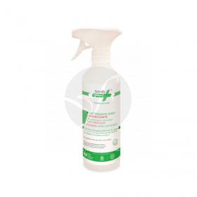 Spray higienizante de superfícies Dosificador 500ml Sanity Green
