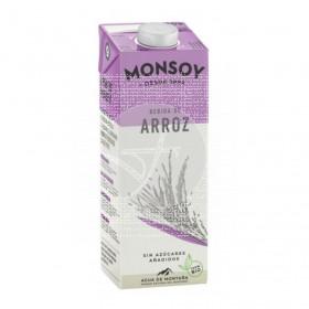 Bebida Vegetal De Arroz Bio 1L Monsoy