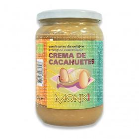 Crema cacahuetes 650Gr Monki