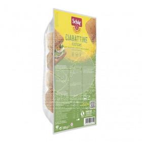 Panecillos Chapata Rustica Ciabattine sin gluten 200Gr Dr. Schar