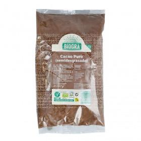 Cacao SemiDesgranado Puro En polvo Bio 250Gr Biográ Biogra