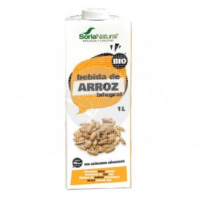 Bebida Vegetal De Arroz integral Eco 1L Soria Natural