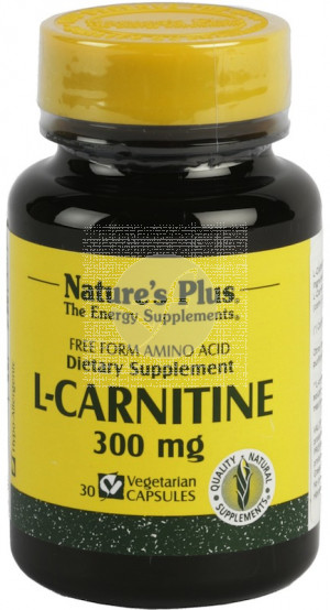 L-Carnitina 300Mg Nature'S Plus