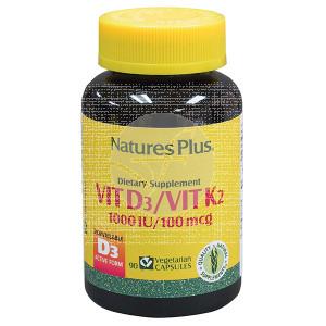 VITAMINA D3 Y K2 NATURE'S PLUS