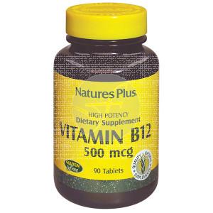 VITAMINA B12 500MCG NATURE´S PLUS