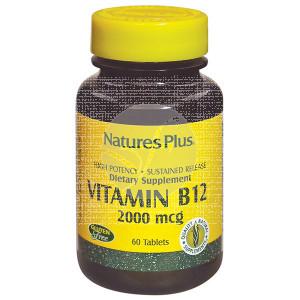 VITAMINA B12 2000MCG NATURE´S PLUS