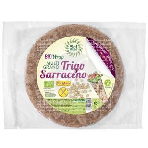 Wrap Trigo Sarraceno Mix sin gluten Bio Solnatural