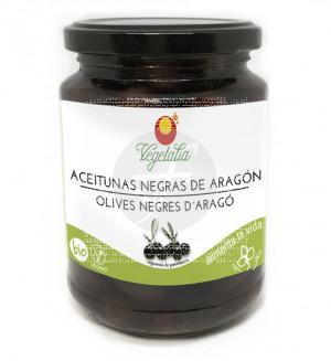 Aceitunas Negras De Aragon Bio 220Gr Vegetalia