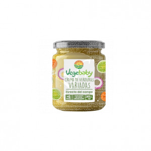 Potito crema verduras Variada Eco Sin Gluten 190gr Vegebaby