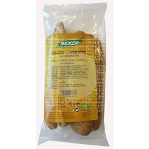 Snack De Espelta Lino Dorado, Chia y Sesamo Biocop