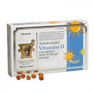 Vitamina D Complex 1600ui 80perlas Pharma Nord
