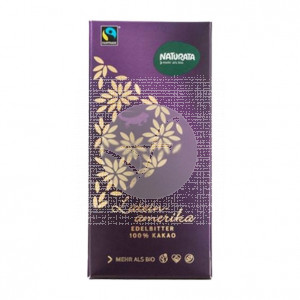 Chocolate Negro 100% Cacao Latinoamerica Eco 80gr Naturata
