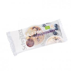Muffins con Arándanos Bio sin gluten Schnitzer