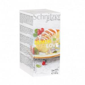 Bizcocho De Limón Lemon Love sin gluten Bio Schnitzer