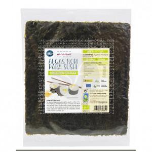 Algas Nori Para Sushi 10hojas Eco Algamar