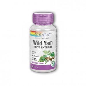 Wild Yam 60 cápsulas Solaray