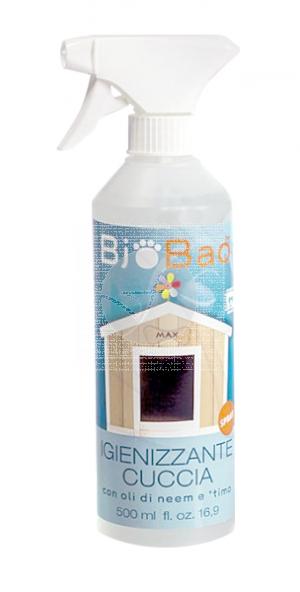 Spray Desinfectante Perrera Biobao