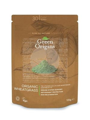 Trigo verde polvo organico Green Origins