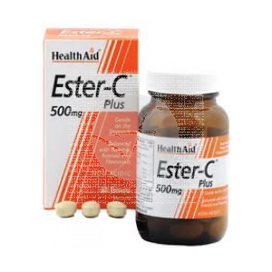 Vitamina Ester C Plus 500Mg Health Aid