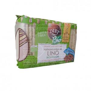 Tostadas Ligeras Lino Bio 100 gr Diet-Radisson