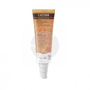 Spray solar cara y cuerpo spf50 biológico y vegano 125 ml Cattier