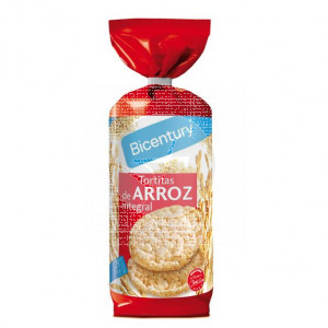 Tortitas De Arroz integral Bicentury