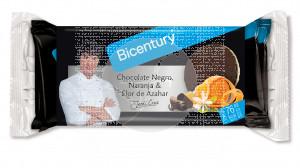Tortitas De Arroz Chocolate Negro Naranja y Flor Azahar Bicentury