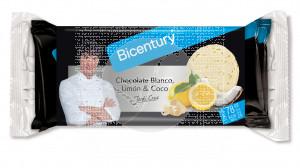 Tortitas De Arroz Chocolate Blanco Limon y Coco Bicentury