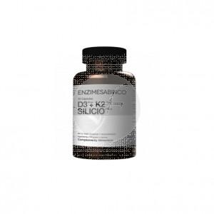 Vitamina D3 + K2 + Silicio 30cáps Enzimesabinco