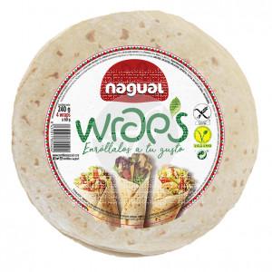 Wrap sin gluten Vegano Nagual