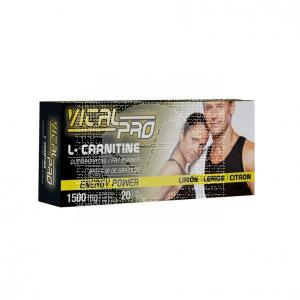 L-Carnitina viales 1500Mg Vital Pro