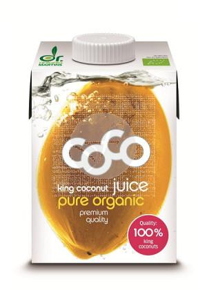 Agua De Coco Natural Pure King Bio Dr. Antonio Martins