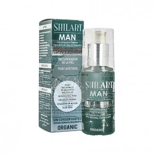 Emulsion antienvejecimiento facial Man Organic 120ml Shilart
