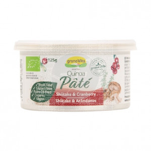 Paté Quinoa Shiitake Arándanos Bio Vegano Sin Gluten Granovita