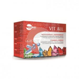 Vit All Multivitaminico 30 Capsulas Way Diet