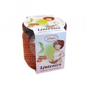 Salsa Ljutenica De Verduras Especiadas 100% Vegetal Schlagfix