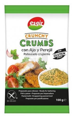 Crunchy Crumbs Ajo y Perejil Rebozado Crujiente Esgir