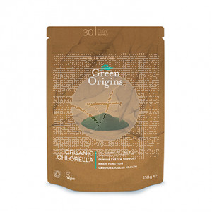 Chlorella En polvo organico Greens Origins Green Origins
