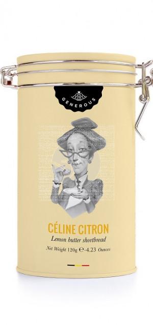 Lata De Galletas Celine Limon Eco y sin gluten Generous