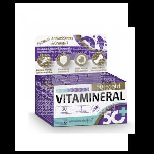 Vitamineral 50+ Gold 30 capsulas Dietmed